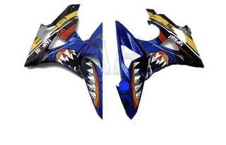Bmw s1000rr side fairings
