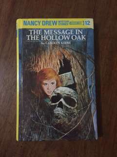 Nancy Drew #12 The Message in the Hollow Oak