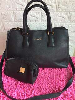 AUTHENTIC SISLEY 2 WAY TO WEAR BAG