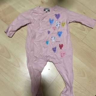 Paul Smith Baby Onesie in Pink