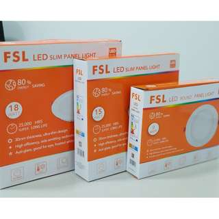 [FSL] [15 watt] Round LED Slim Panel Downlight