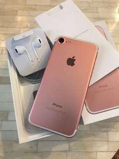 iPhone 7 128gb玫瑰金