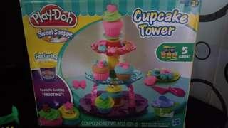 Play Doh Cupcake Tower