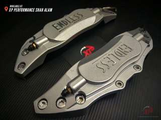 Endless brembo wilwood Aluminium Brake Caliper Cover Silver color
