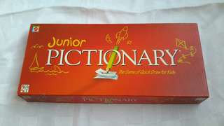 Junior pictionary edu games
