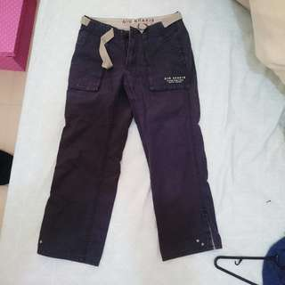 Vintage Khaki Cargo Pants Giordano Gio Cropped Outdoor Gear Womens