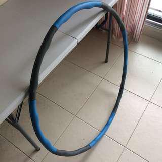 Hula hoop (detachable)