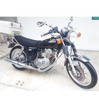14 Yamaha SR400 (Aug 2014)