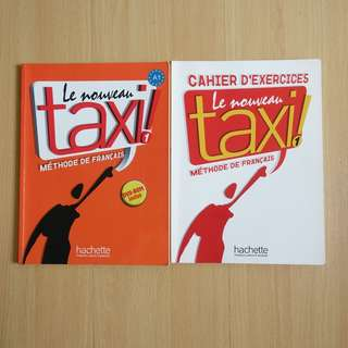 French Textbooks (2 sets)