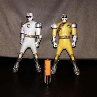 2001 Bandai Wild Force Morphing Power Rangers