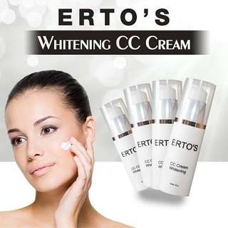 Ertos whitening cc cream