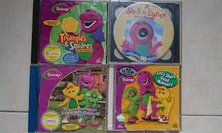 Barney CDs