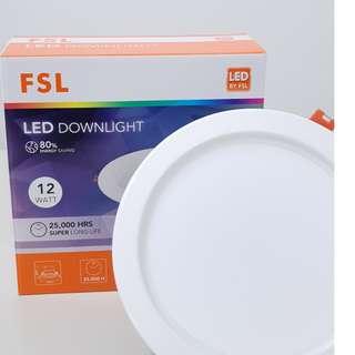 [FSL] [12 watt] Round LED Downlight