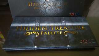 Dose of Colors Hidden Treasures eyeshadow palette brand-new Authentic