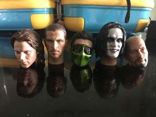 1/6 scale headsculpts