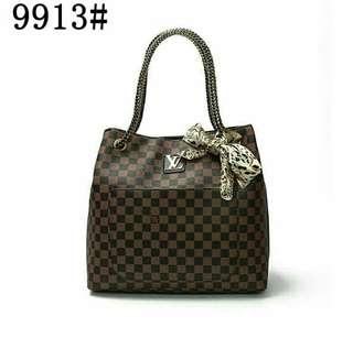 lv shoulder bag with.scarf