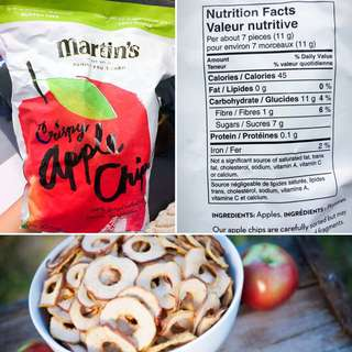 Martin's Crispy Apple Chips 🍎🍎 馬田 純蘋果脆脆片