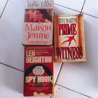 Novel Inggris Murah (3buku)