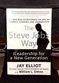 # Highly Recommended《Preloved Paperback + How To Apply Steve Jobs Principles In Your career & Life》Jay Elliot & William L.Simon - THE STEVE JOBS WAY : iLeadership for a New Generation