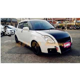 07年 SWIFT 白色 FB搜尋『說書人車庫』專營熱門車改裝車二手車中古車