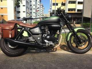 Modified Honda phantom 200cc