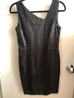 Jessica Simpson lace and sequin dress