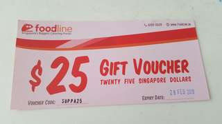 Foodline voucher