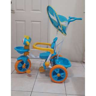 Kid's Bike with stroller handler