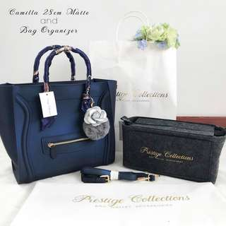CAMILLA 28cm MATTE with pair twilly, bag organizer & petal with fur charm (Pre-order)