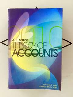 Theory of Accounts 2010 ed (Valix)