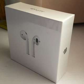 Apple AirPods HK spec 100% New , 全新港版未開封