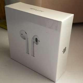 Apple AirPods HK spec 100% New , 全新港版未開封