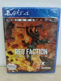 (Brand New) PS4 Red Faction: Guerrilla Remastered / R2