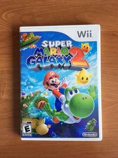 SUPER MARIO GALAXY 2 WII GAME