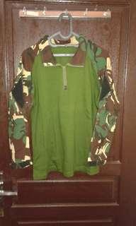 Combad shirt,kaos taktis,kaos bdu
