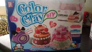 Color Clay DIY not Play Doh