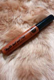 Be Organic Minerals Matte But Not Flat liquid lipstick