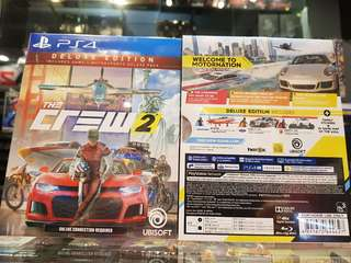 Ps4 The Crew 2 Deluxe Ed R3