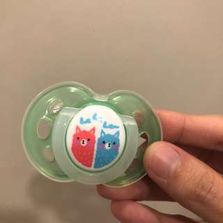 Tommie tippie 6-12M pacifier