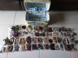 A Big Lot of New & Beautiful Necklaces (Handmade/Pearls/Shells/Stones/Coconut etc, total 66pcs)