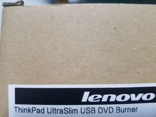 BNIB Thinkpad Ultraslim USB DVD Burner