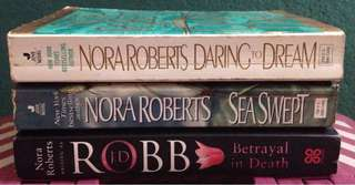 🔥DANIEL STEELE, NORA ROBERTS AND MORE!