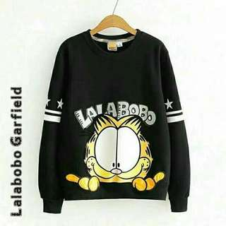 Lalabobo Garfield  Sweater