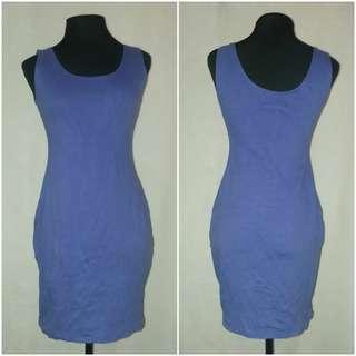 Purple Bodycon Sexy Dress