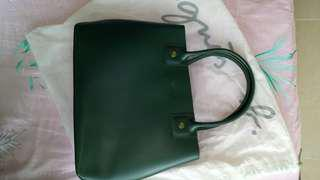 Agnis b 袋真品authentic woman's handbag