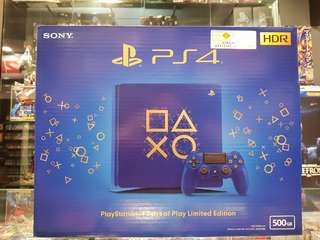 Ps4 Days Of Play Limited Ed