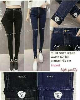 Celana Jeans 905 Highwaist jeans import jeans high waist polos jeans lipat