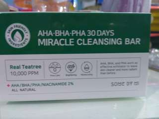 SOME BY MI AHA BHA PHA 30 Days Miracle Cleansing Bar Soap