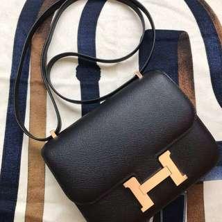 Hermes Constance 19cm