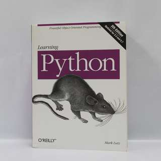 🚚 Learning Python, 5th Edition by Mark Lutz